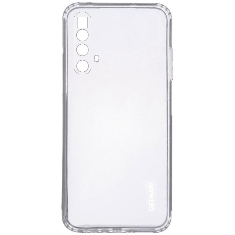 TPU чехол GETMAN Clear 1,0 mm для Realme X3 SuperZoom / X3 / X50