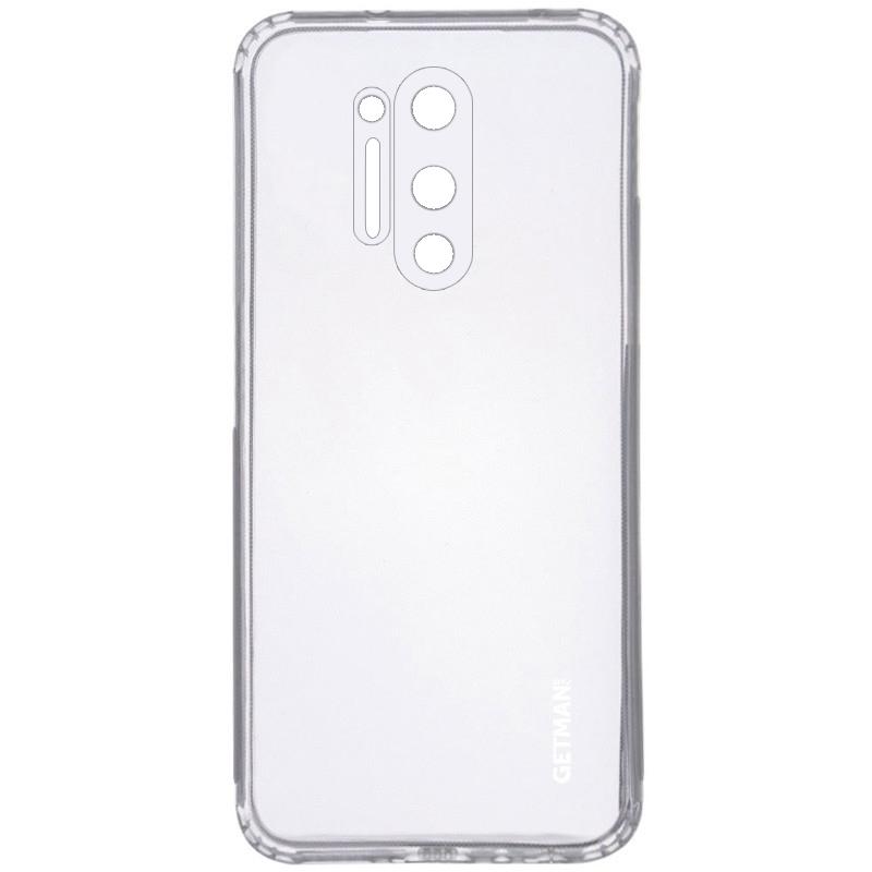TPU чехол GETMAN Clear 1,0 mm для OnePlus 8 Pro