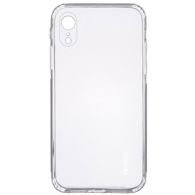 "TPU чехол GETMAN Clear 1,0 mm для Apple iPhone XR (6.1"")"