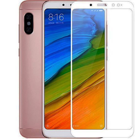Защитное цветное стекло Mocolo (full glue) на весь экран для Xiaomi Redmi Note 5 Pro / Note 5 (DC)