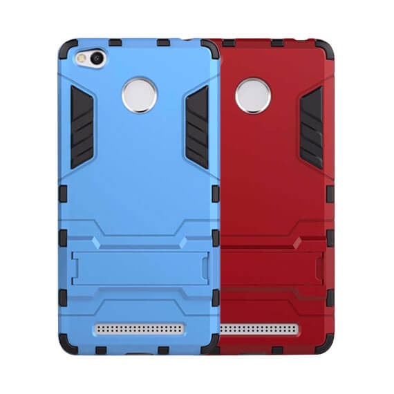 Ударопрочный чехол-подставка Transformer для Xiaomi Redmi 3 Pro / Redmi 3s с мощной защитой корпуса