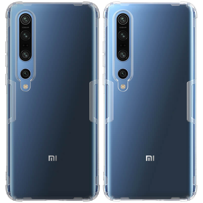 TPU чехол Nillkin Nature Series для Xiaomi Mi 10 / Mi 10 Pro