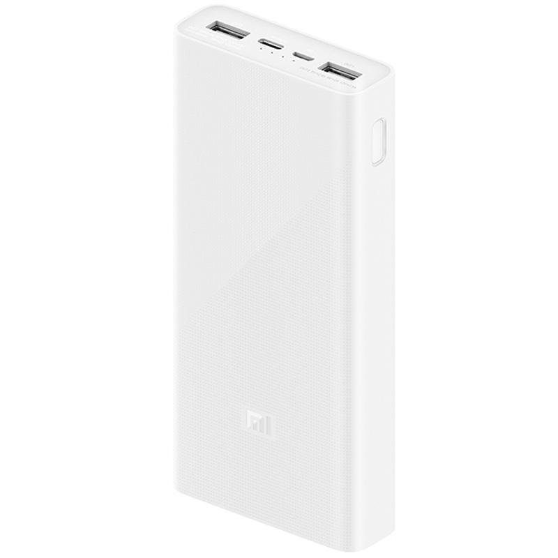 Портативное зарядное устройство Xiaomi Mi Power Bank 3 20000mAh (2USB+Type-C) (PLM18ZM/VXN4258CN)