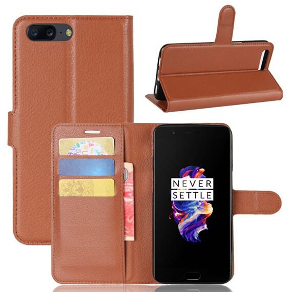 Чехол (книжка) Wallet с визитницей для OnePlus 5