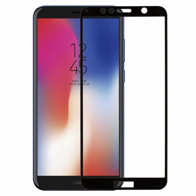Защитное цветное стекло Mocolo (full glue) на весь экран для Huawei Y6 (2018)