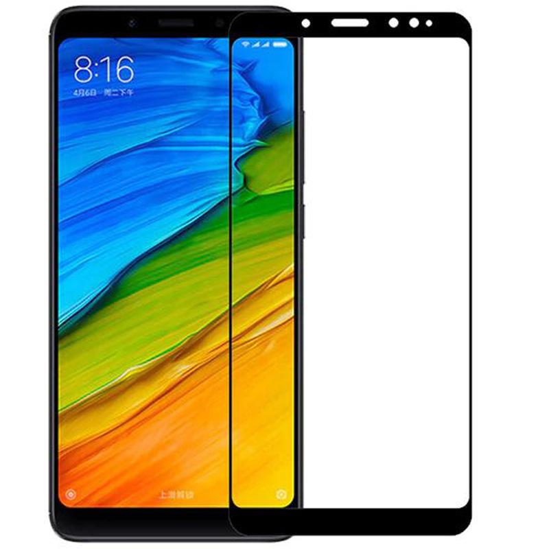 Защитное цветное стекло Mocoson 5D (full glue) для Xiaomi Redmi Note 5 Pro / Note 5 (DC)