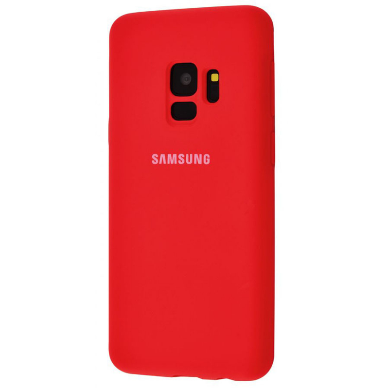 Чехол Silicone Case Full Protective для Samsung Galaxy S9