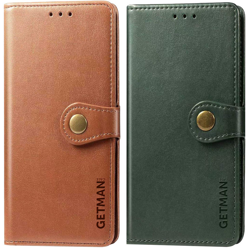 Кожаный чехол книжка GETMAN Gallant (PU) для Samsung Galaxy M01 Core / A01 Core