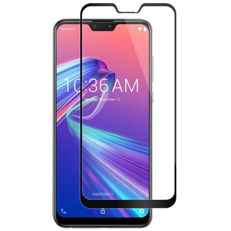 Защитное цветное стекло Mocolo (full glue) на весь экран для Asus Zenfone Max Pro M2 (ZB631KL)