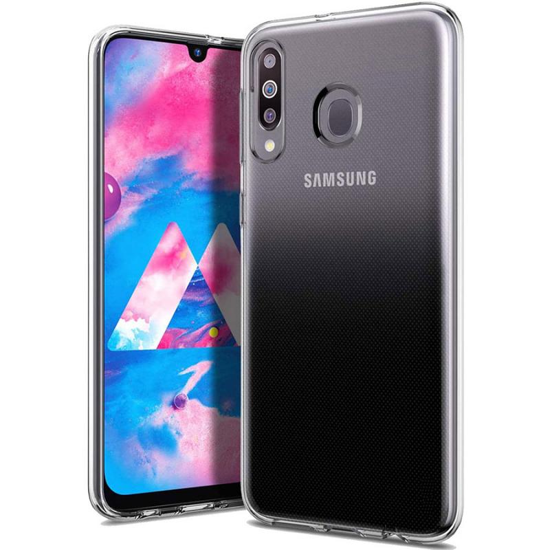 TPU чехол Epic Transparent 1,0mm для Samsung Galaxy M30