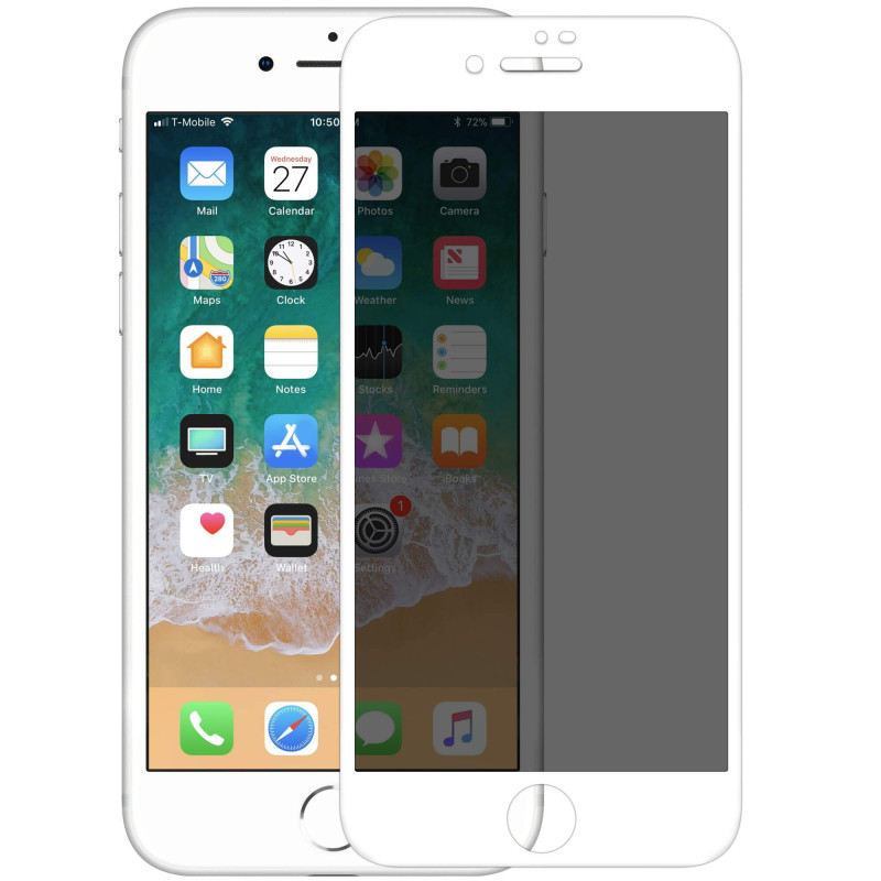 "Защитное стекло Nillkin Privacy Glass Full Screen (3D AP+MAX) для Apple iPhone 7 (4.7"")"