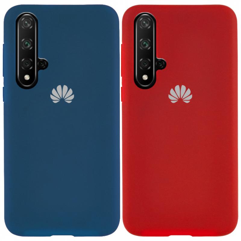 Чехол Silicone Cover Full Protective (AA) для Huawei Honor 20 / Nova 5T