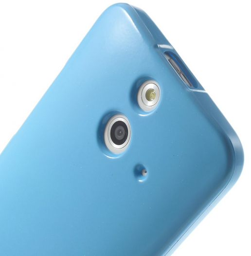 TPU чехол Mercury Jelly Color series для HTC One / E8