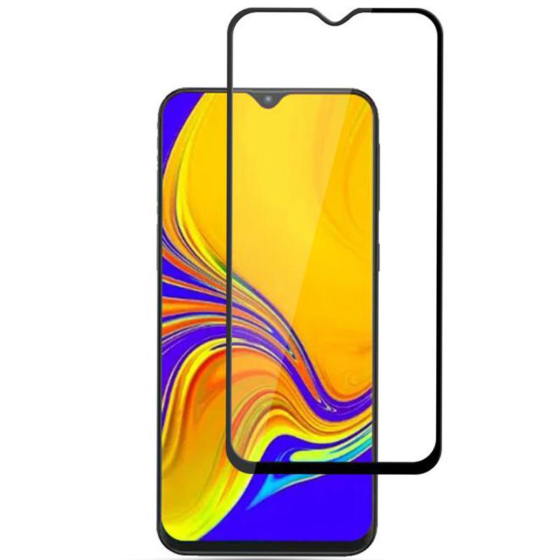 Защитное цветное стекло Mocolo (full glue) на весь экран для Samsung Galaxy M10