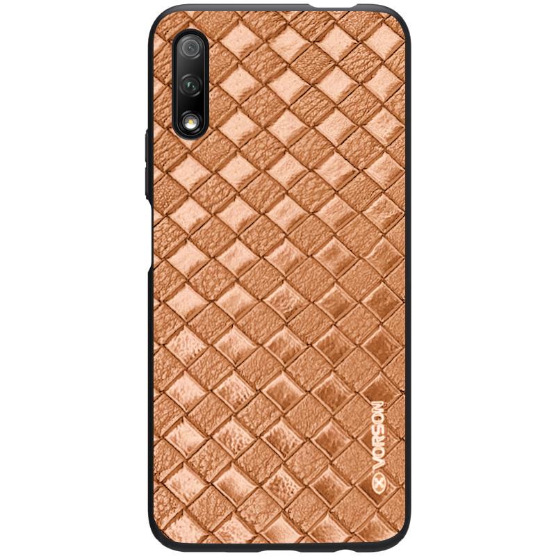 Кожаная накладка VORSON Braided leather series для Huawei Honor 9X (China)