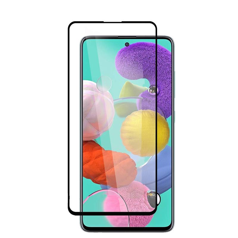 Защитное стекло XD+ (full glue) (тех.пак) для Samsung Galaxy A71 / Note 10 Lite