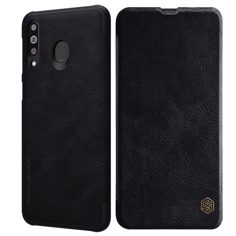Кожаный чехол (книжка) Nillkin Qin Series для Samsung Galaxy M30