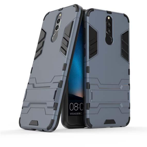 Ударопрочный чехол-подставка Transformer для Huawei Mate 10 Lite с мощной защитой корпуса