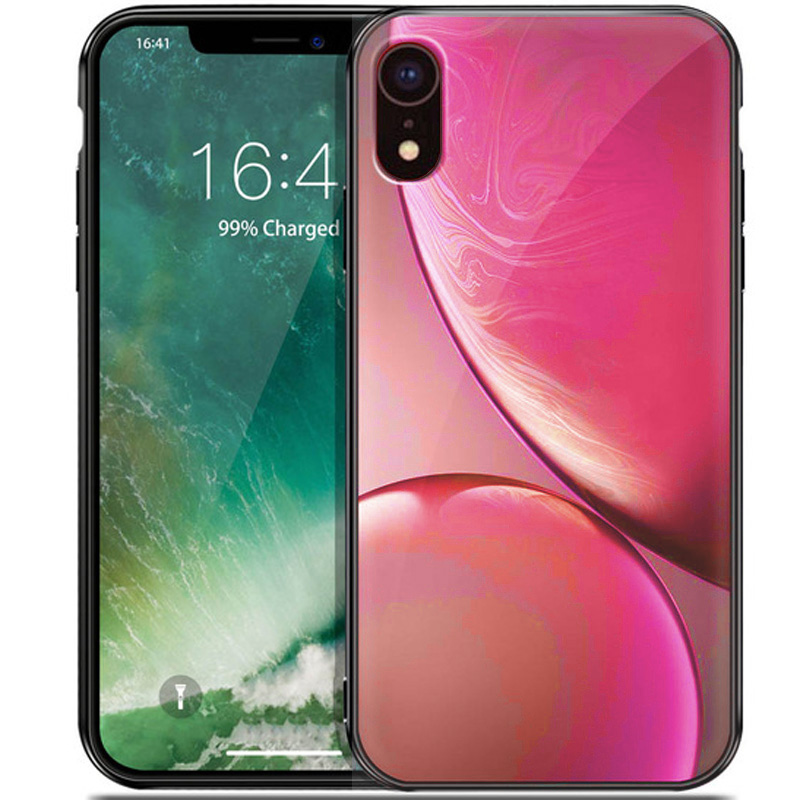 "TPU+Glass чехол Planet для Apple iPhone XR (6.1"")"