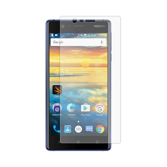 Защитное стекло Ultra 0.33mm для Nokia 3 (картонная упаковка)