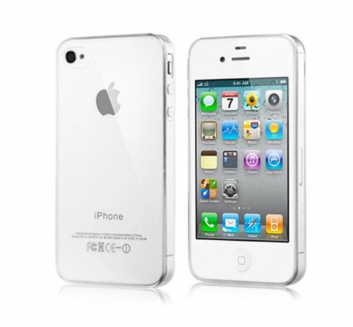 TPU чехол Ultrathin Series 0,33mm для Apple iPhone 4/4S