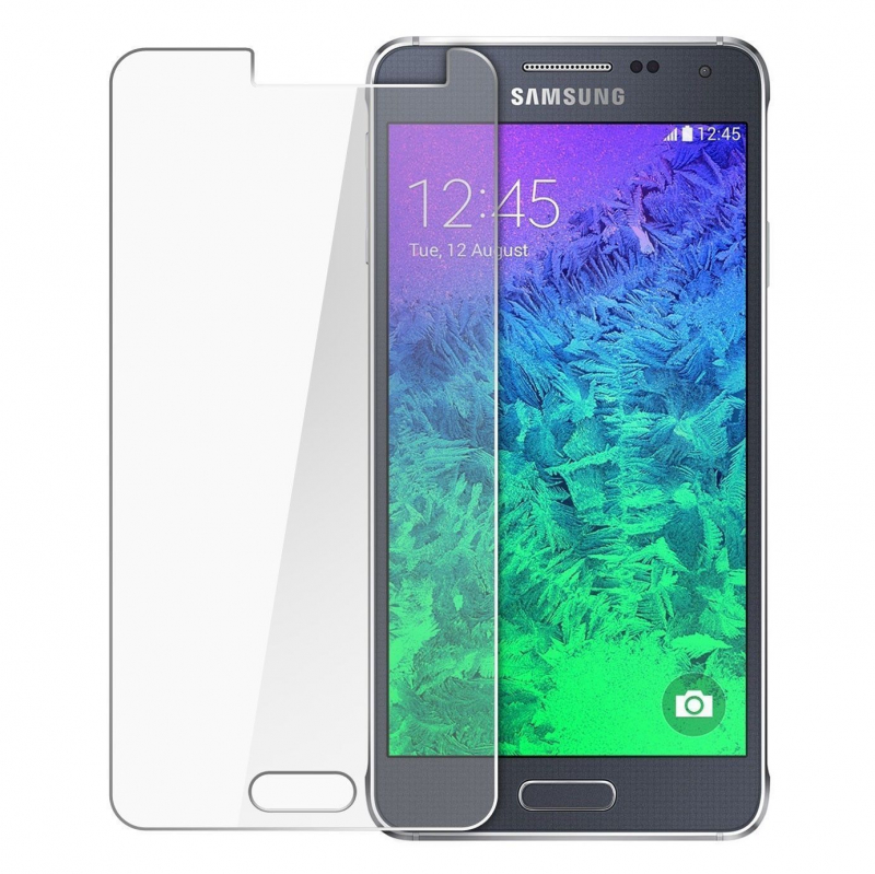 Защитное стекло Ultra Tempered Glass 0.33mm (H+) для Samsung A700H / A700F Galaxy A7 (карт. уп-вка)