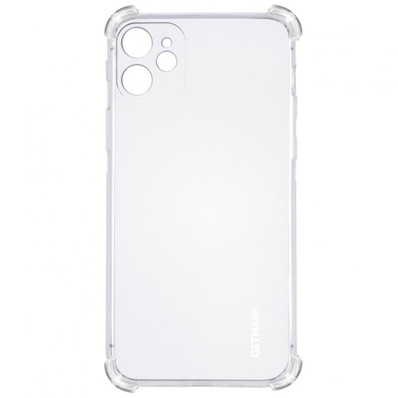 "TPU чехол GETMAN Ease logo усиленные углы для Apple iPhone 11 (6.1"")"