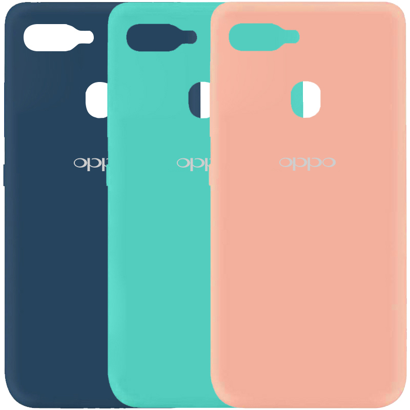 Чехол Silicone Cover My Color Full Protective (A) для Oppo A5s / Oppo A12