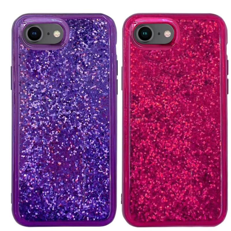 "TPU+PC чехол Sparkle (glitter) для Apple iPhone 7 / 8 / SE (2020) (4.7"")"