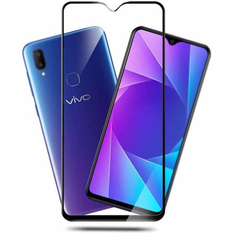 Защитное цветное стекло Mocolo (full glue) на весь экран для Vivo Y91