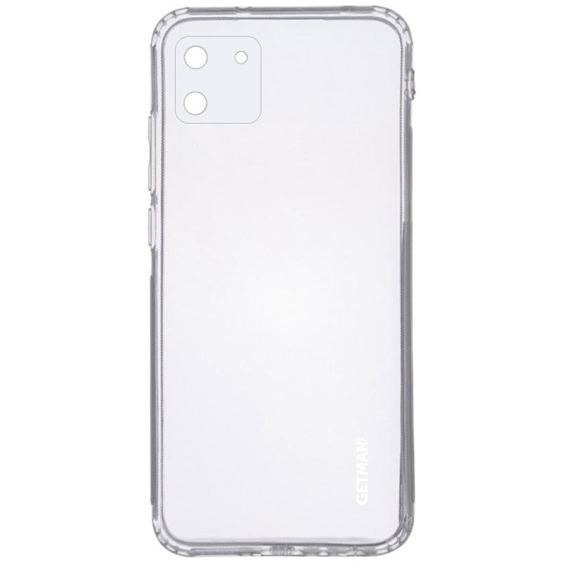 TPU чехол GETMAN Clear 1,0 mm для Realme C11