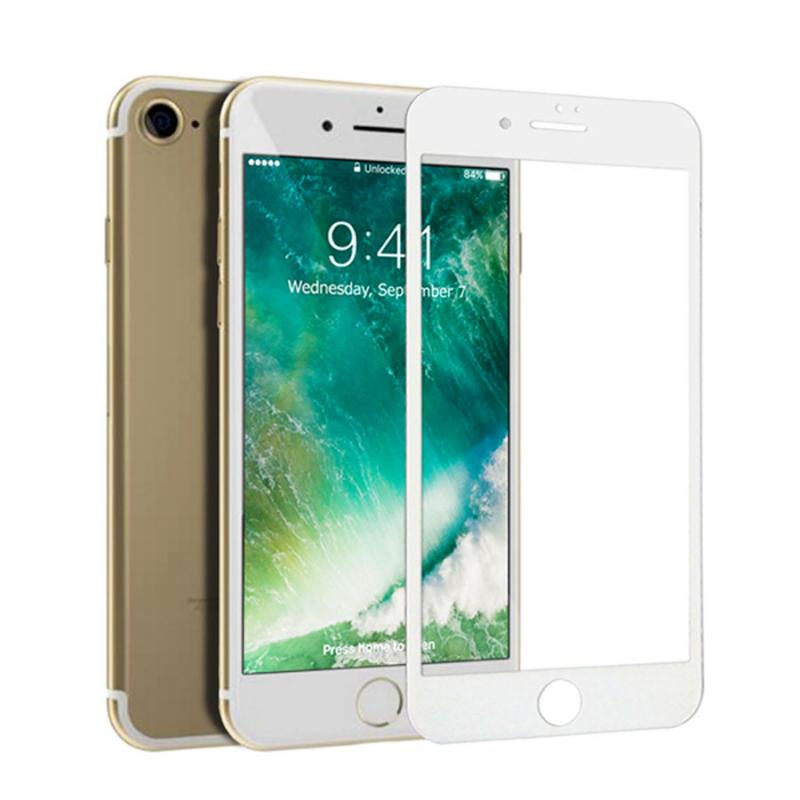"""Гибкое защитное 3D стекло AMC для Apple iPhone  7 / 8 / SE (2020) (4.7"""") (+пленка)"""
