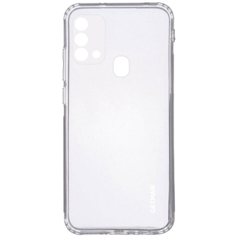 TPU чехол GETMAN Clear 1,0 mm для Samsung Galaxy M21s