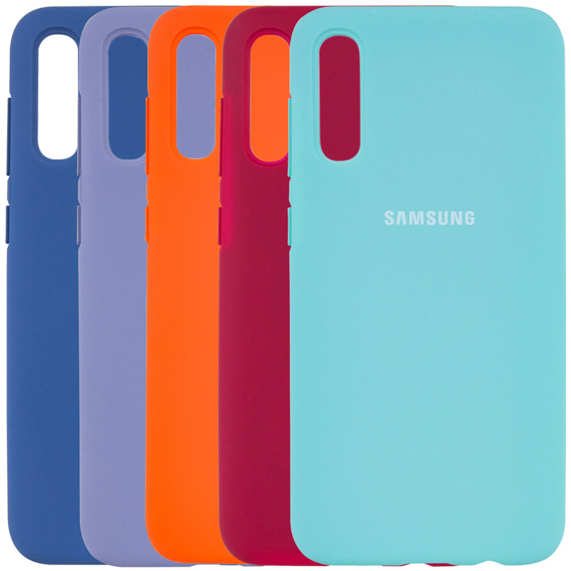 Чехол Silicone Cover Full Protective (AA) для Samsung Galaxy A50 (A505F) / A50s / A30s