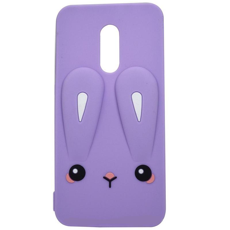 Силиконовая накладка 3D Child Bunny для Xiaomi Redmi Note 4X / Note 4 (SD)
