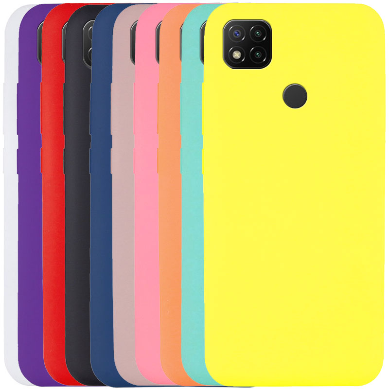 Чехол Silicone Cover Full without Logo (A) для Xiaomi Redmi 9C