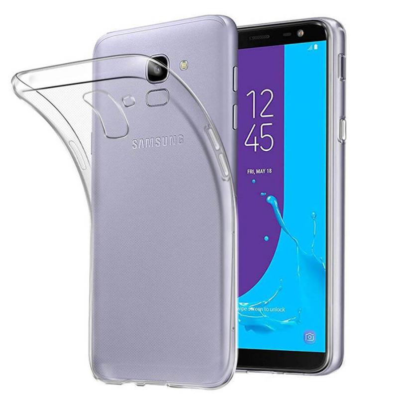 TPU чехол Ultrathin Series 0,33mm для Samsung J600F Galaxy J6 (2018)