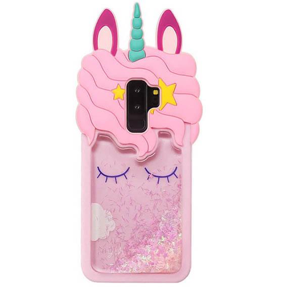 Силиконовый чехол Unicorn 3D для Samsung Galaxy S9+