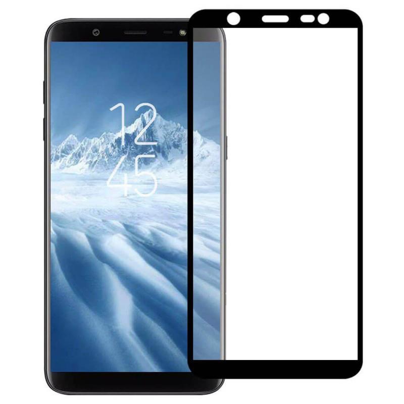 Защитное цветное стекло Mocolo (CP+) на весь экран для Samsung Galaxy J8 (2018)