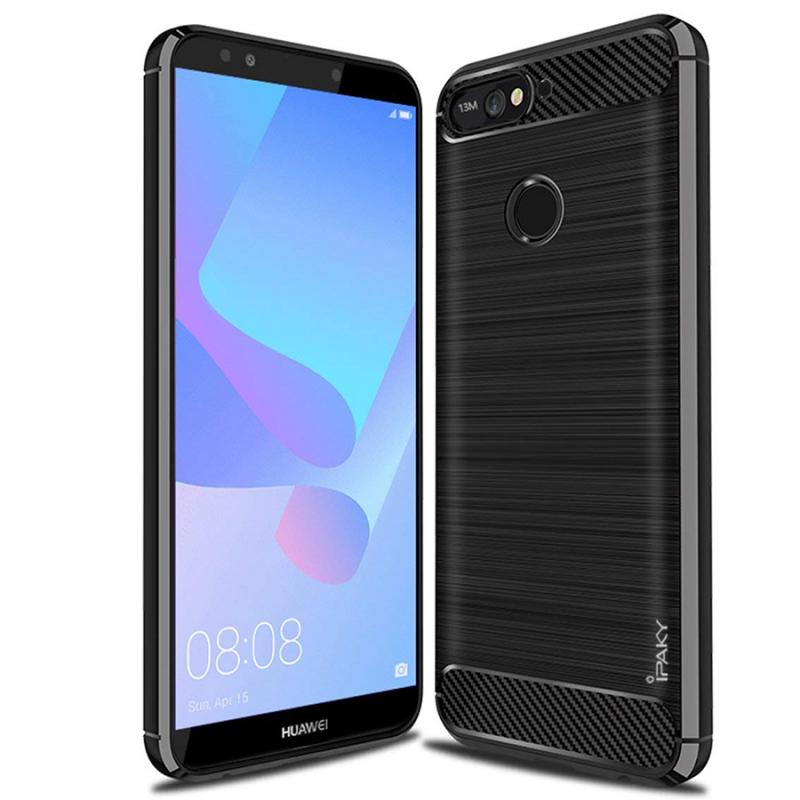 TPU чехол iPaky Slim Series для Huawei Y7 (2018)