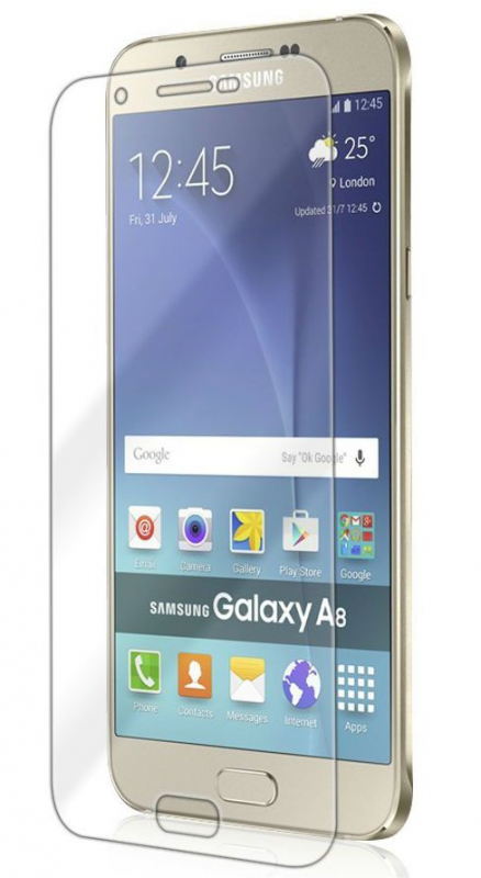 Защитное стекло Ultra 0.33mm для Samsung Galaxy A8 (карт. упак)