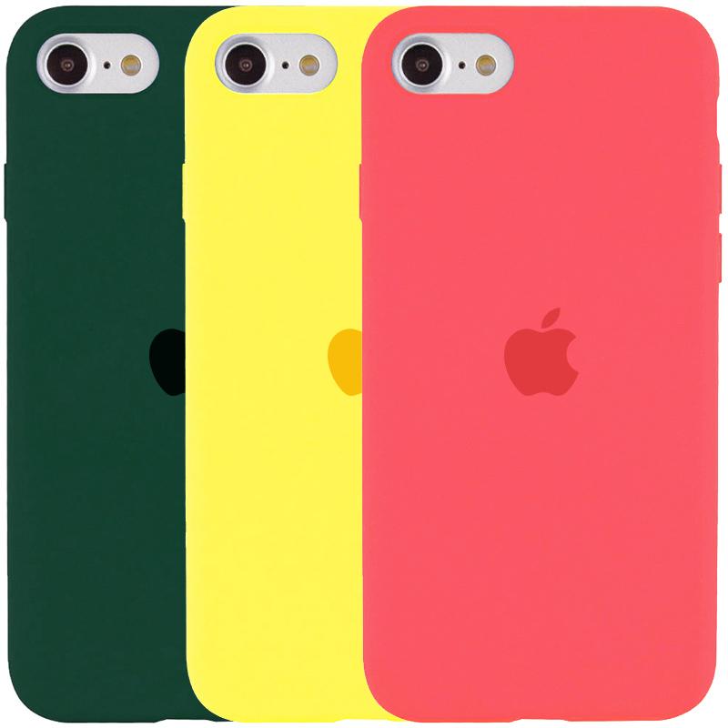 Чехол Silicone Case Full Protective (AA) для Apple iPhone SE (2020)