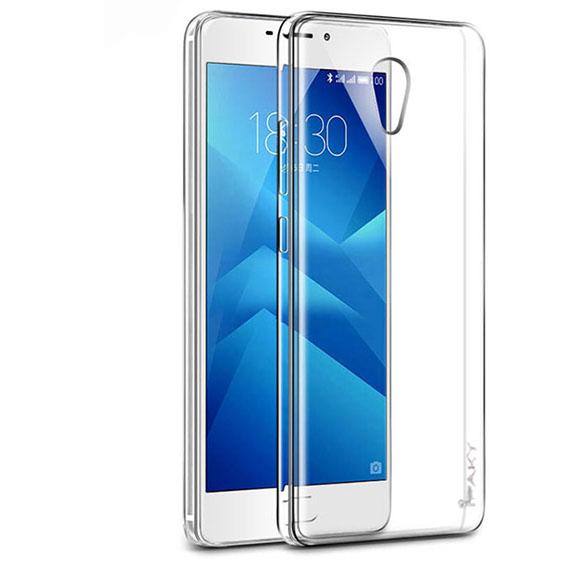 TPU чехол iPaky Clear Series (+стекло) для Meizu M5s