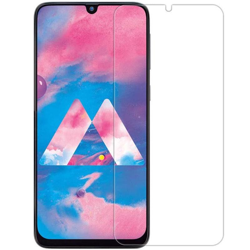 Полимерная пленка 3D Clear (full glue) (тех.пак) для Samsung A20/A30/A30s/A50/A50s/M30/M30s/M31/M21