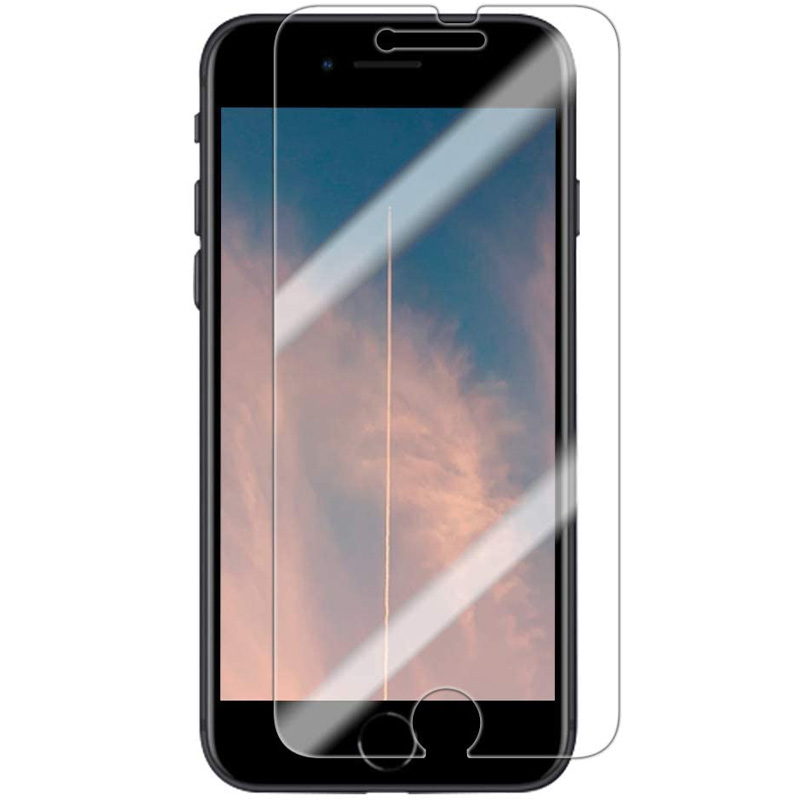 "Полимерная пленка 3D Clear (full glue) (тех.пак) для Apple iPhone 8 / SE (2020) (4.7"")"