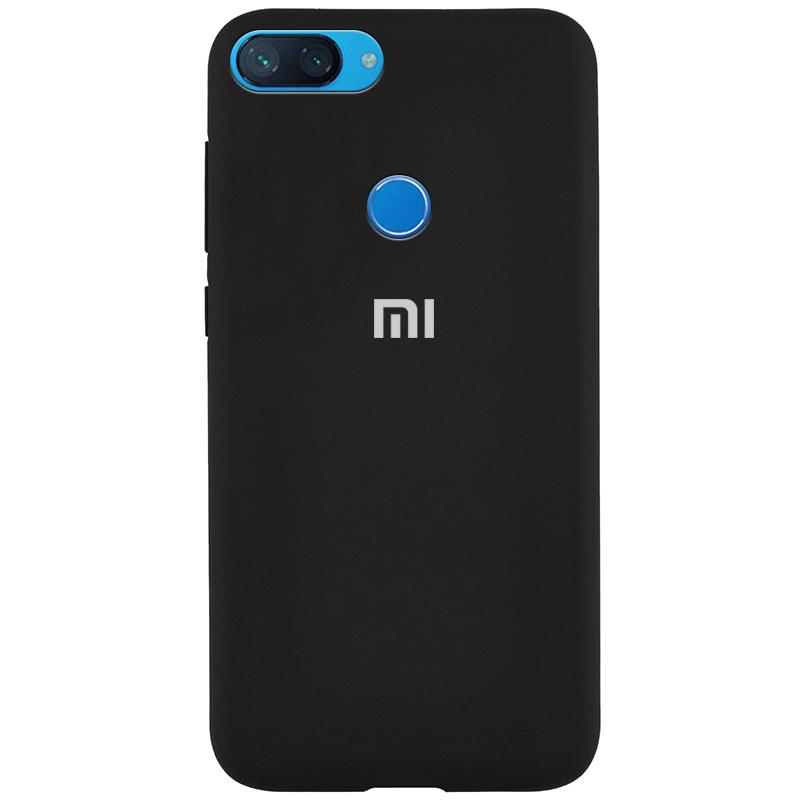 Чехол Silicone Cover Full Protective (AA) для Xiaomi Mi 8 Lite / Mi 8 Youth (Mi 8X)