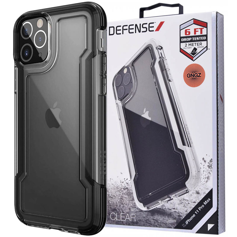 "Чехол Defense Clear Series (TPU+PC) для Apple iPhone 12 Pro / 12 (6.1"")"