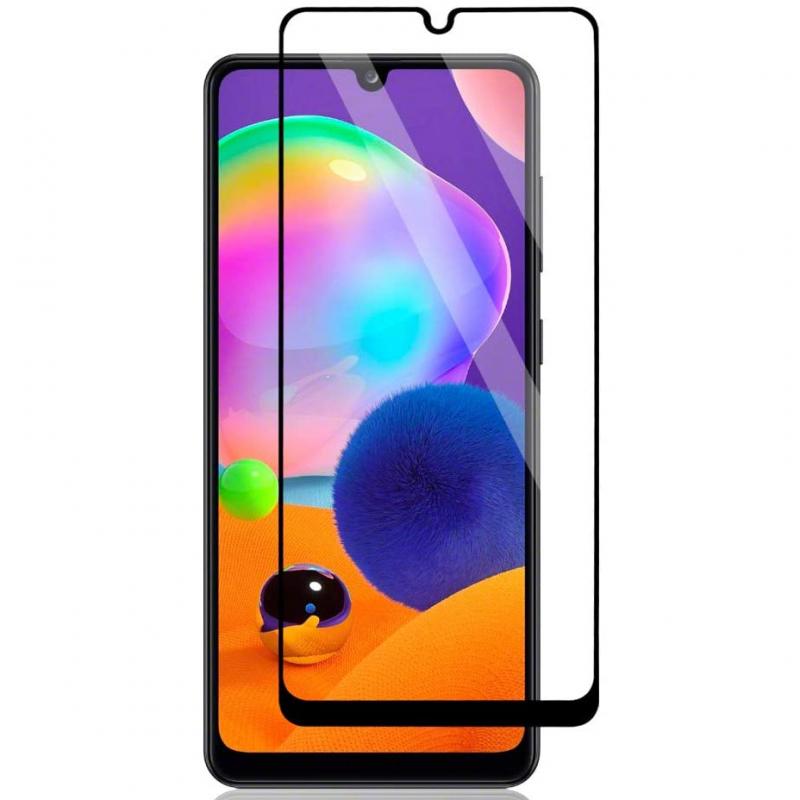 Защитное стекло 2.5D CP+ (full glue) для Samsung Galaxy A31