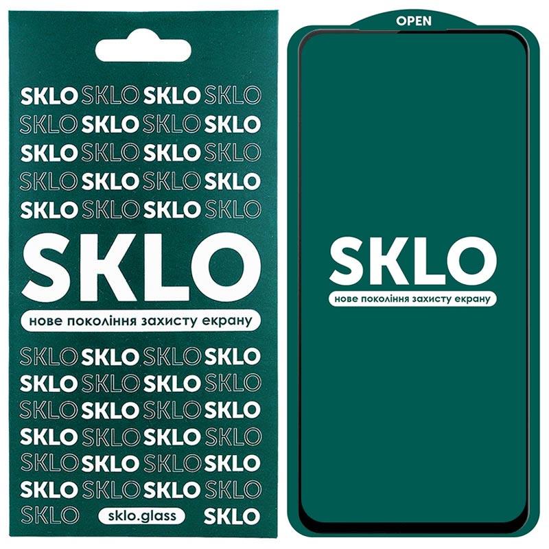 Защитное стекло SKLO 5D (full glue) для Xiaomi Redmi Note 9 / Redmi 10X / Note 9T / Note 9 5G