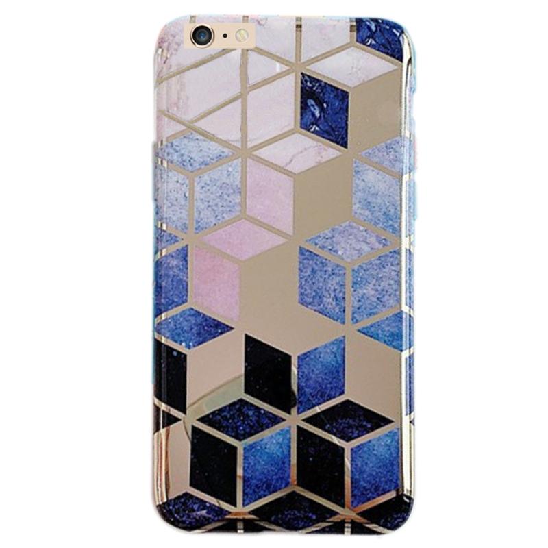 "TPU Чехол Геометрия для Apple iPhone 6/6s (4.7"")"